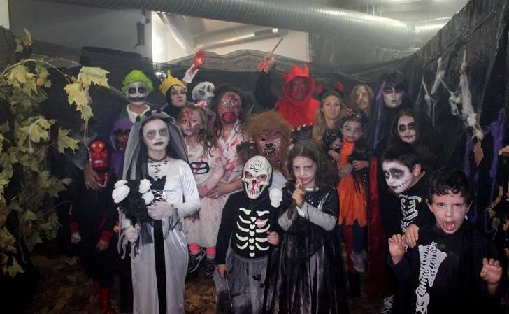 Cabanillas vuelve a volcarse con la fiesta de Halloween en la víspera de Todos los Santos