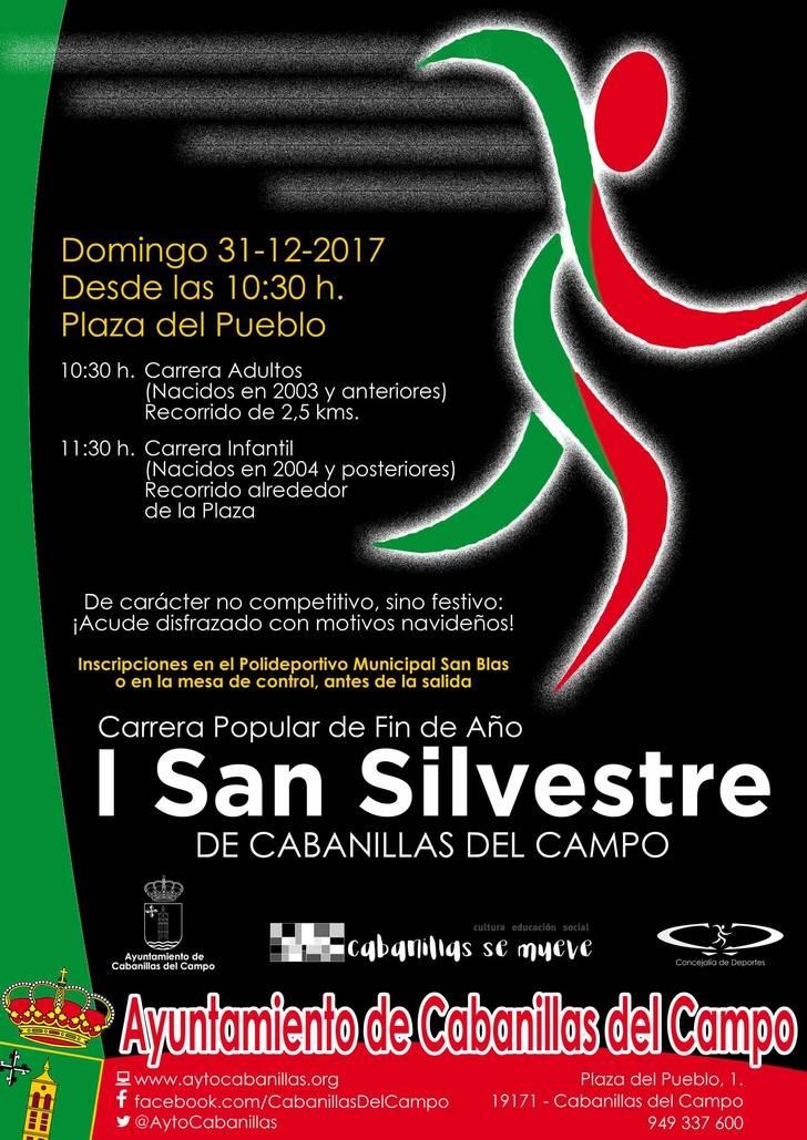 Cabanillas estrena Carrera San Silvestre este 31 de diciembre