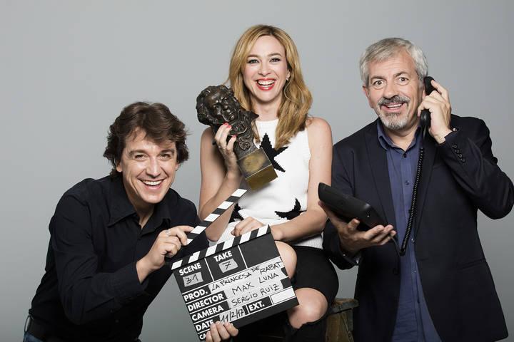 Carlos Sobera, Marta Hazas y Javier Veiga llegan al Buero Vallejo con la obra '5 y Acción'