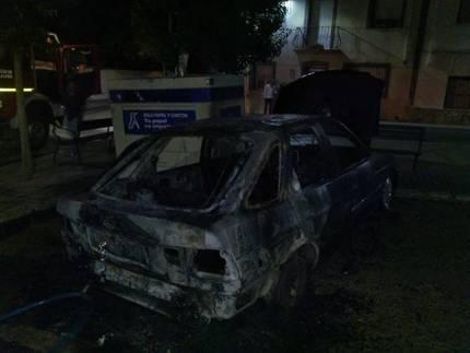 Queman dos coches y una furgoneta en Yunquera de Henares y Fontanar en un periodo de tiempo de 10 minutos