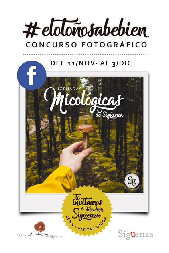 Participa en el concurso fotográfico #ElOtoñoSabeBien y gana un menú micológico degustación para dos personas