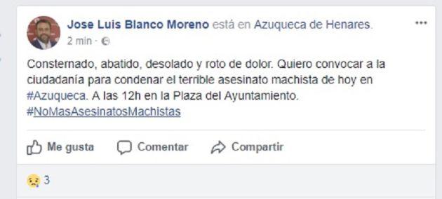 Conmoción y tristeza en Azuqueca en el segundo día de luto oficial por el asesinato de Arantxa de 37 años
