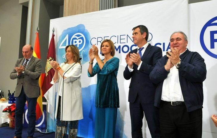 Cospedal asegura que el PP volverá a gobernar en la región para devolver la esperanza a los castellano-manchegos