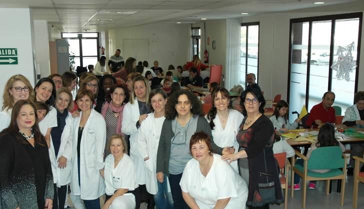 Pacientes y trabajadores de la Unidad de Daño Cerebral y sus familiares celebran la Navidad en su V Encuentro Intergeneracional en Guadalajara
