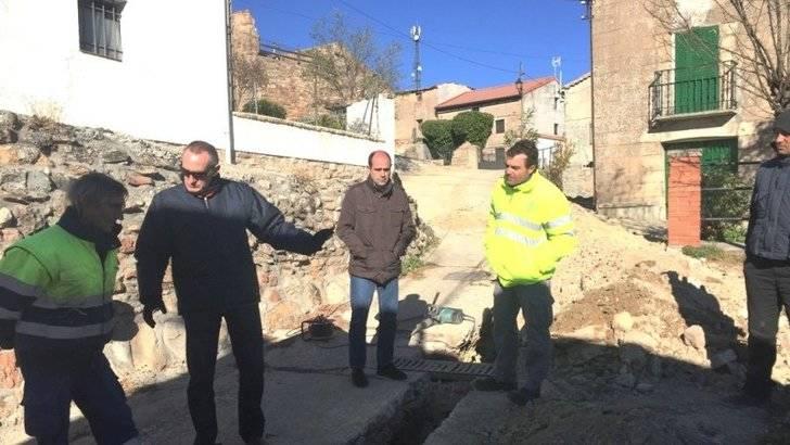 La Diputación invierte 60.000 euros en obras hidráulicas en Anguita y pedanías