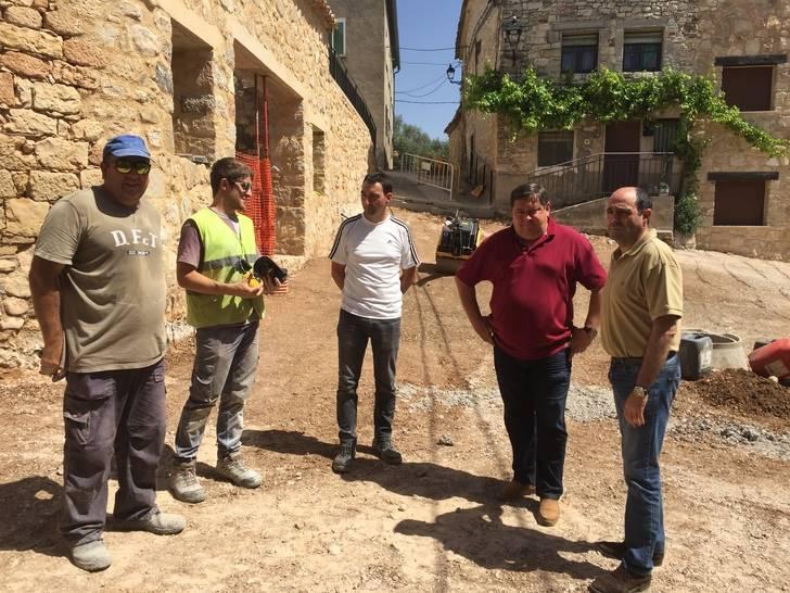 La Diputación finaliza las obras de renovación de redes y pavimentación de caminos en Galápagos, Matarrubia, Torrebeleña y La Toba