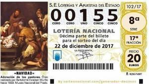 El 155, el número más demandado para el Sorteo de Navidad se vende en Castilla-La Mancha