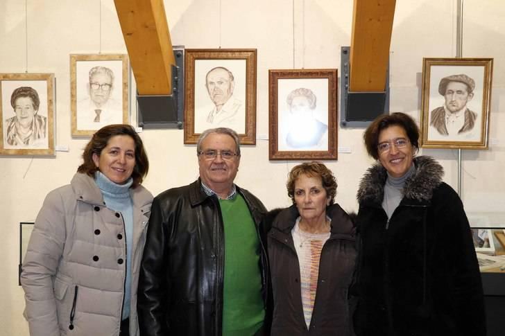 El almorcileño Fernando Cebolla ha encontrado su genio pictórico después de la jubilación