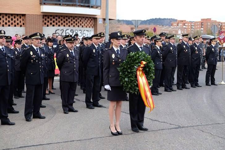 El Ayuntamiento de Guadalajara dedica una glorieta a la Policía Nacional.
