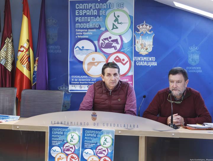 Guadalajara acoge este fin de semana el Campeonato de España de Pentatlón Moderno