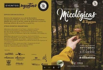 Vuelven a Sigüenza las Jornadas Micológicas durante noviembre y diciembre