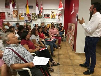 José Luis Blanco propone a Page hacer un debate en la campaña por liderar el PSOE regional