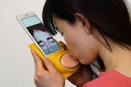 Kissenger : Ya es posible besar por el móvil