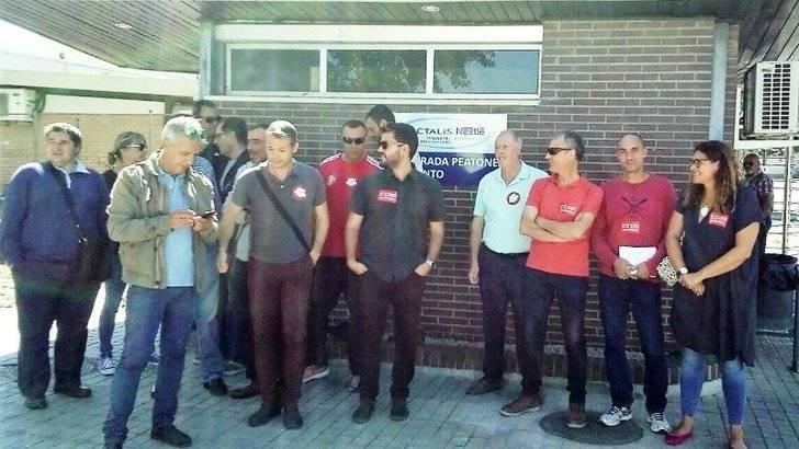 Los sindicatos preparan una buena en la empresa de Lactalis-Nestlé