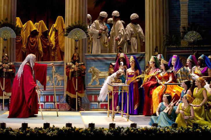Ópera con mayúsculas en el Teatro Auditorio Buero Vallejo con 'Nabucco'