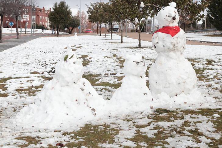 El frío pone en alerta naranja a Guadalajara y Sigüenza marca -12 grados