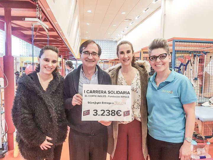 La I Carrera solidaria de El Corte Inglés y la Fundación Nipace recauda más de 3.000 euros