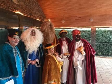 La Cabalgata de los Reyes Magos culmina la Navidad en el Umbral del Ocejón
