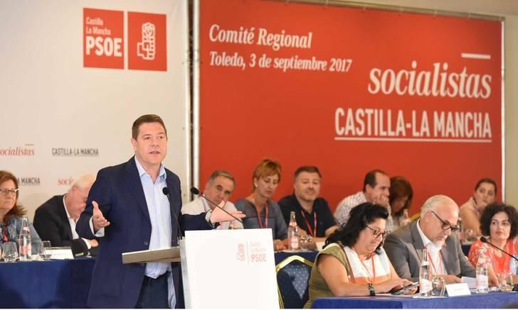 García-Page anunciará en tres días si se presenta a secretario regional del partido