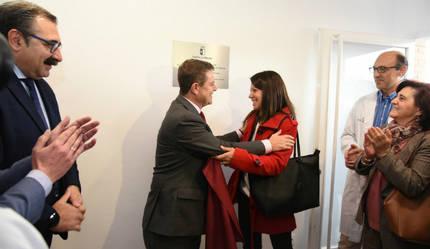García-Page inaugura un nuevo consultorio en la urbanización 'Parque de Las Castillas' de Torrejón del Rey