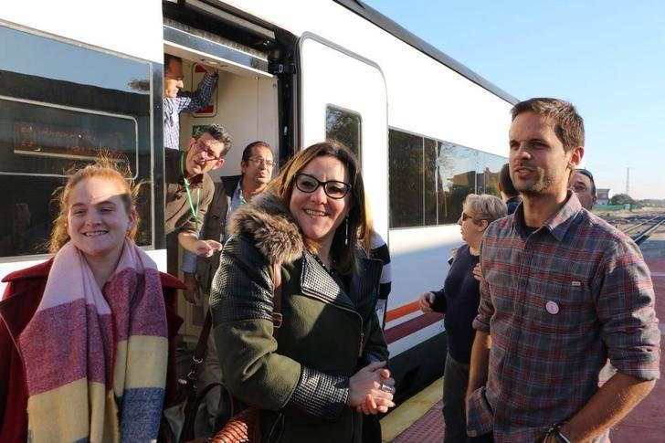 PODEMOS-CLM se suma a la manifestación convocada hoy en Madrid en defensa de un tren digno