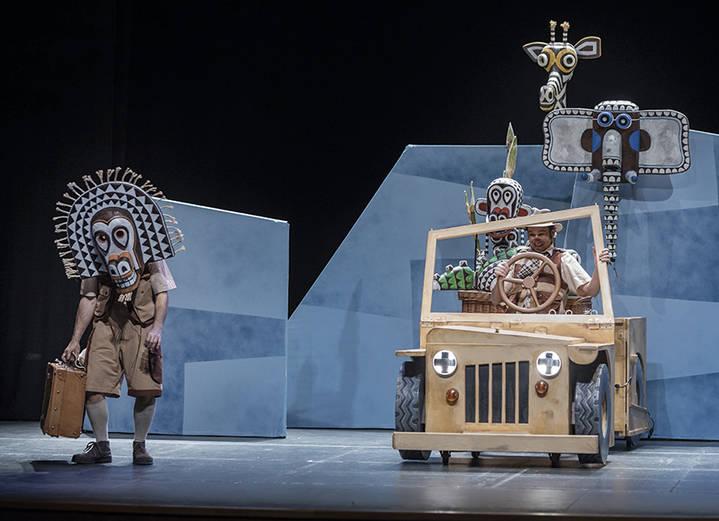 El Teatro Auditorio Buero Vallejo cierra la temporada 2017 con el teatro infantil 'Safari'