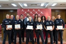 Seis agentes de la Policía Local de Azuqueca, reconocidos por la Guardia Civil
