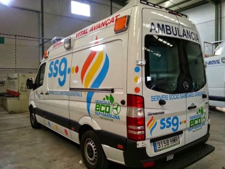 La UTE Servicios Socio Sanitarios Generales y Digamar Servicios adjudicataria del Serivcio de Ambulancias en Guadalajara