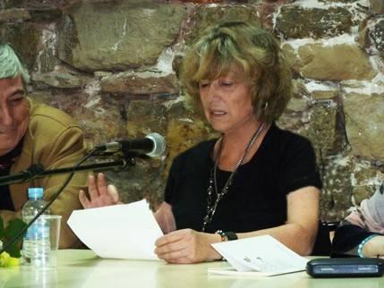 La escritora María Antonia Velasco presentó su libro 'La Cabeza y un zapato' en Sigüenza