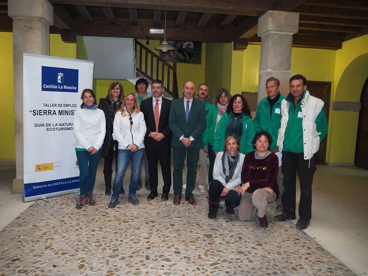 El Taller de Empleo 'Sierra Ministra' ha formado en Ecoturismo a ocho personas en Sigüenza