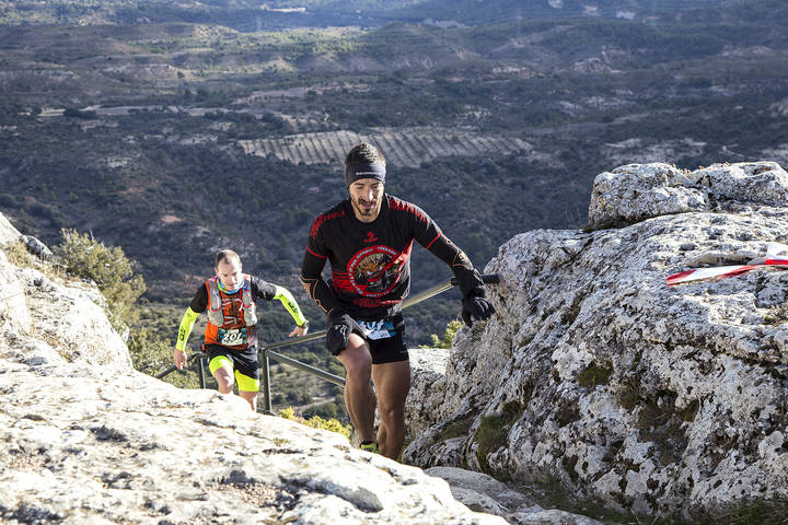 Las Tetas de Viana volverán a ver pasar a los atletas del Desafío Invernal X-Trail Trillo