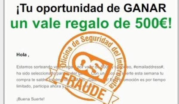 La Guardia Civil alerta contra el timo que utiliza como ganchos a El Corte Ingles, Ikea, Carrefour y Amazon
