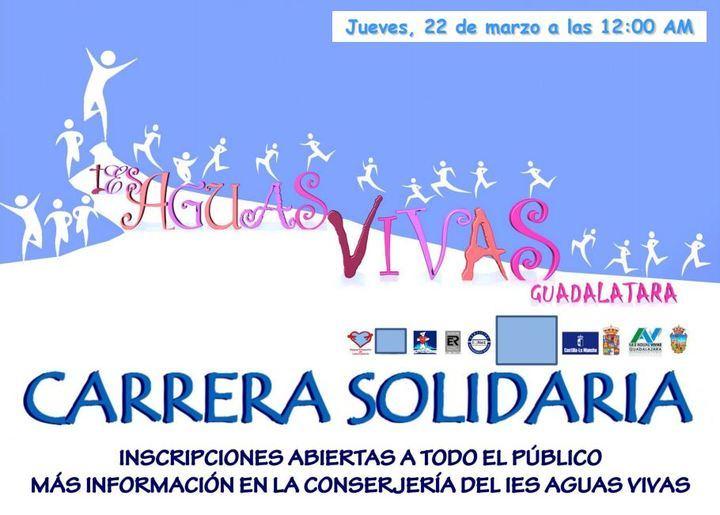 El Instituto de Aguas Vivas celebra su VII Carrera Solidaria