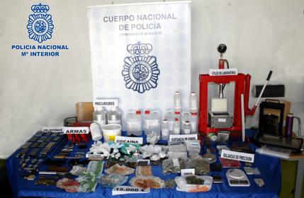 Dieciocho detenidos en una macro operación antidroga en Albacete