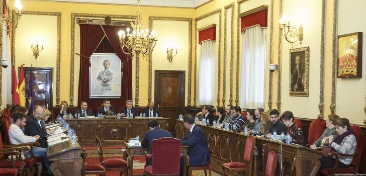 Relación de acuerdos adoptados en el pleno celebrado este lunes en el ayuntamiento de Guadalajara