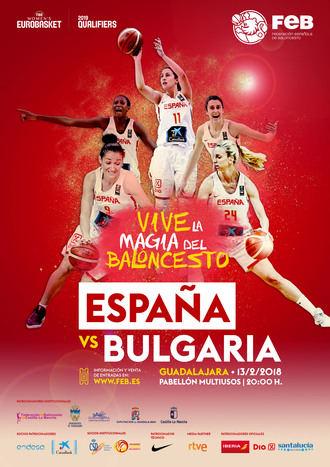 Guadalajara volverá vibrar con la Selección Española de Baloncesto Femenino este martes