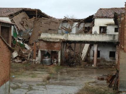 Los bomberos del Consorcio de la Diputación atendieron ayer 11 avisos por el temporal en la provincia de Guadalajara