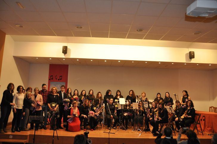 La Asociación de Mujeres y la Banda de Música de Brihuega abren los actos de la semana del 8 de marzo