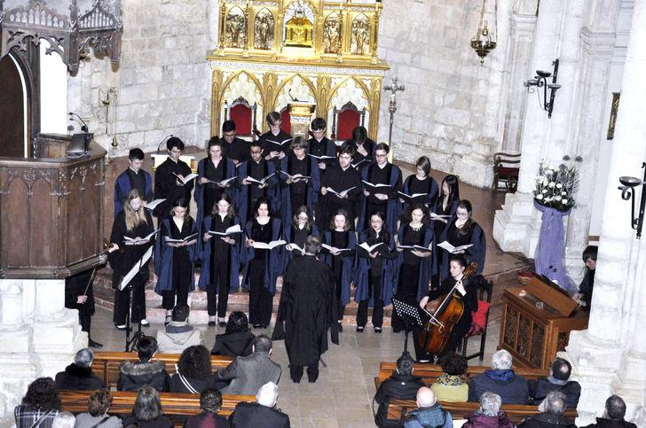 Brihuega recibe la visita del coro del Gonville & Caius College de la Universidad de Cambridge