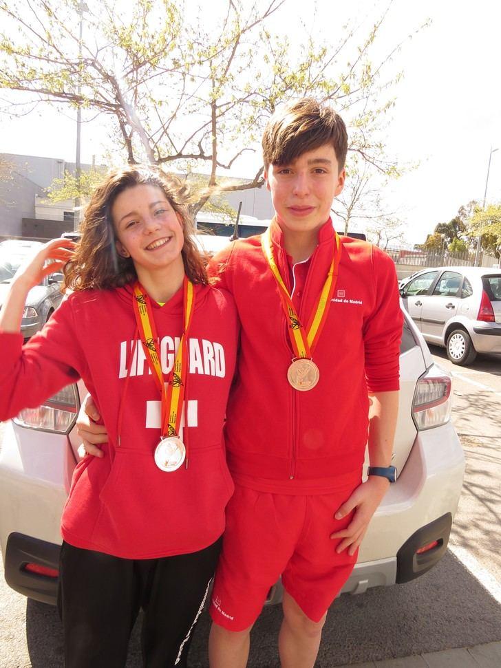 El nadador alcarreño Gonzalo Ruíz Vázquez consigue dos nuevos récords en el Campeonato de España