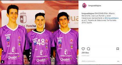 Tres canteranos del Quabit al Campeonato de España de Selecciones
