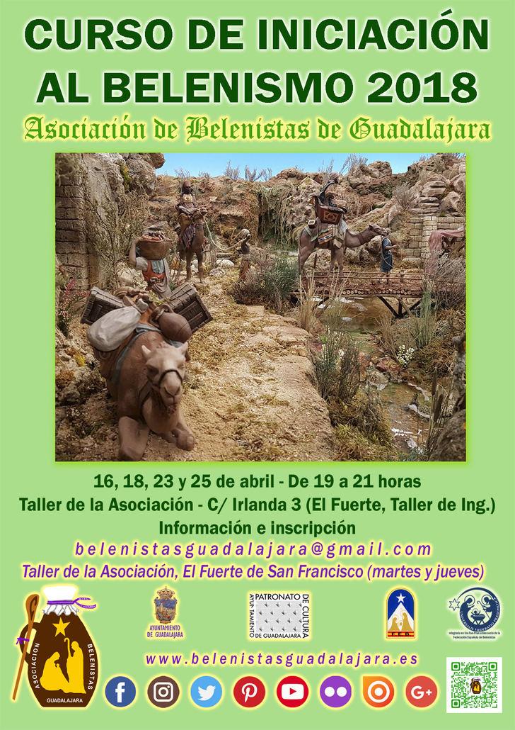 Presentado un nuevo Curso de Iniciación al Belenismo que ha programado la Asociación de Belenistas de Guadalajara