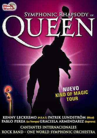 Symphonic Rhapsody of Queen, un espectáculo para nostálgicos de la banda inglesa en el TABV
