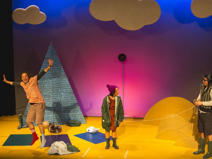 El Teatro Moderno se prepara para 'El Viaje', teatro pensado para los más pequeños