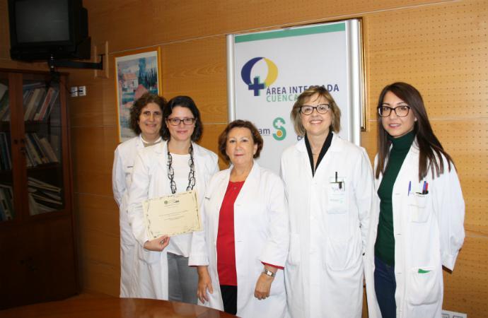 Farmacéuticas del Hospital de Cuenca premiadas entre las mejores de 160 de toda España