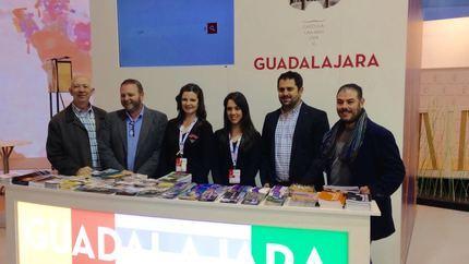 El diputado de Turismo de Guadalajara asiste a la inauguración de la 37 edición de la Feria de Turismo FITUR
