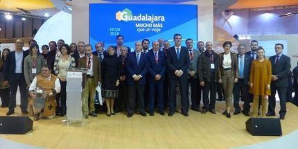 La Diputación muestra en FITUR la riqueza turística de Guadalajara a través de la literatura y los festivales temáticos