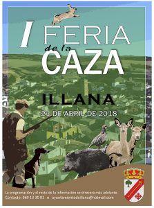 Illana acogerá su I Feria de la Caza el próximo día 21 de abril