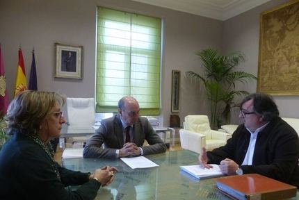 José Manuel Latre se reúne con el presidente del Colegio de Arquitectos de Guadalajara