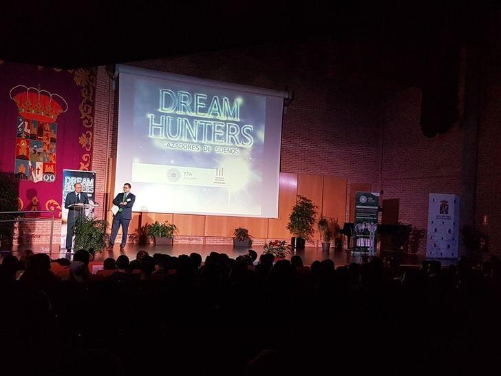 El presidente de la Diputación de Guadalajara clausura la Jornada de Jóvenes Emprendedores organizada por la EFA El Llano de Humanes